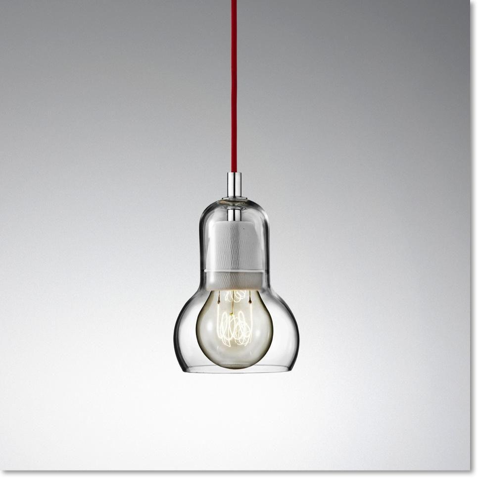 Bulb Sr1 Lampe Med Rod Ledning Tradition Loftslamper Lamper