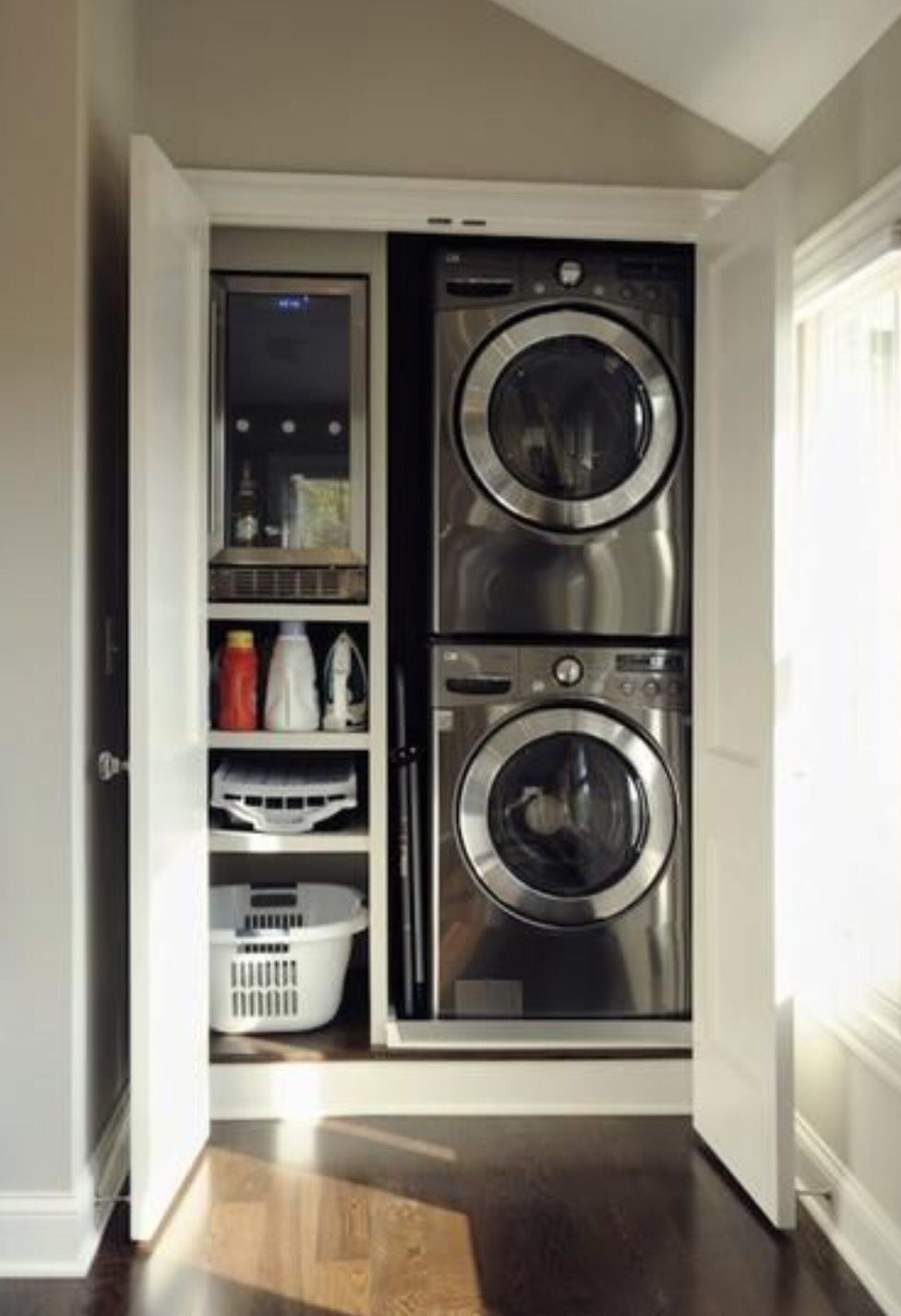 Best Small Laundry Room Solutions Idea Box By 2 Bees In A Pod 400 x 300