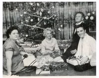 Image result for elvis and  gladys christmas