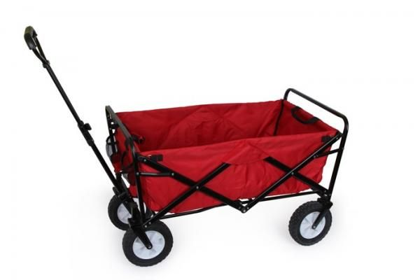 Large Folding Hand Cart with Storage Case - rockedout.com