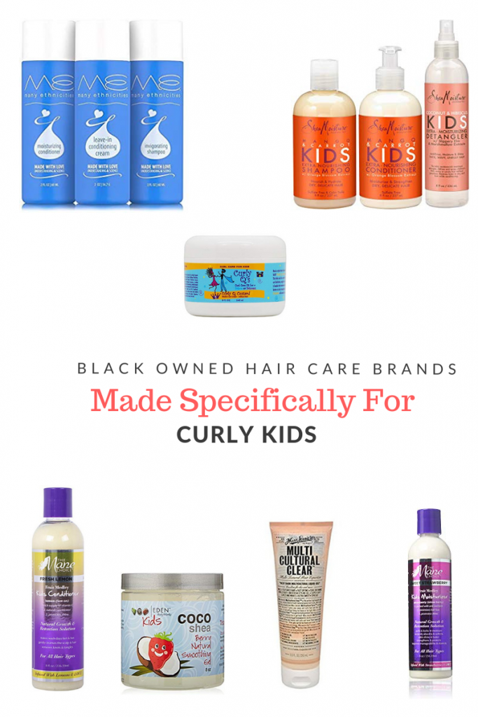 Black Owned Hair Care Brands Made Specifically for Curly