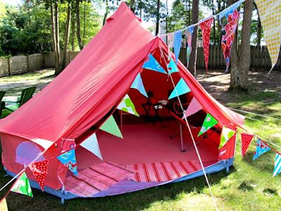 Camp Lightbulb - Summer Camp for LGBT Youth: Take a look at our cool Camp Lightbulb tents....