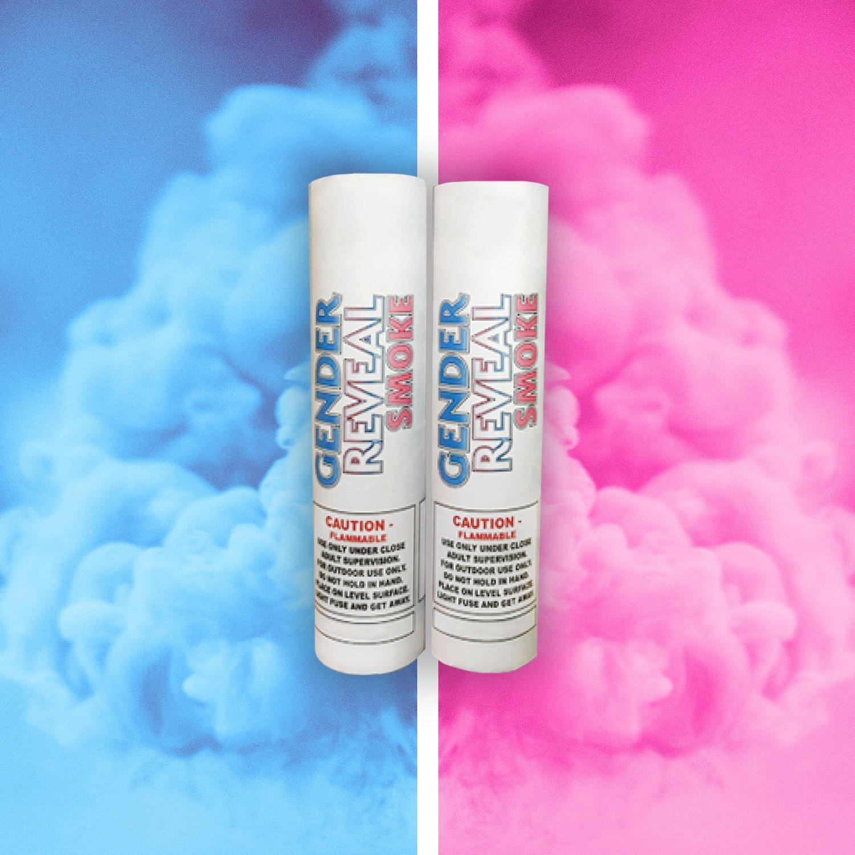 Gender Reveal Smoke Bombs Gender Reveal Smoke Simple Gender Reveal Halloween Gender Reveal