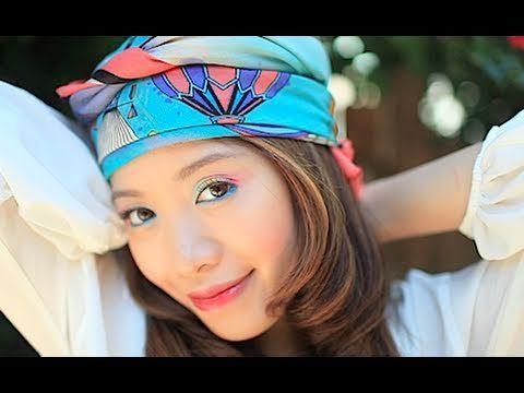 Rainbow Eyes love summer! This makeup look celebrates the icy treat, rainbow snowcones!