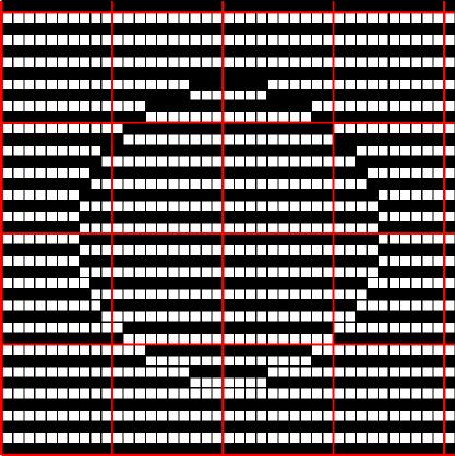Photo of Optische Täuschung Wayuu Mochila Muster
