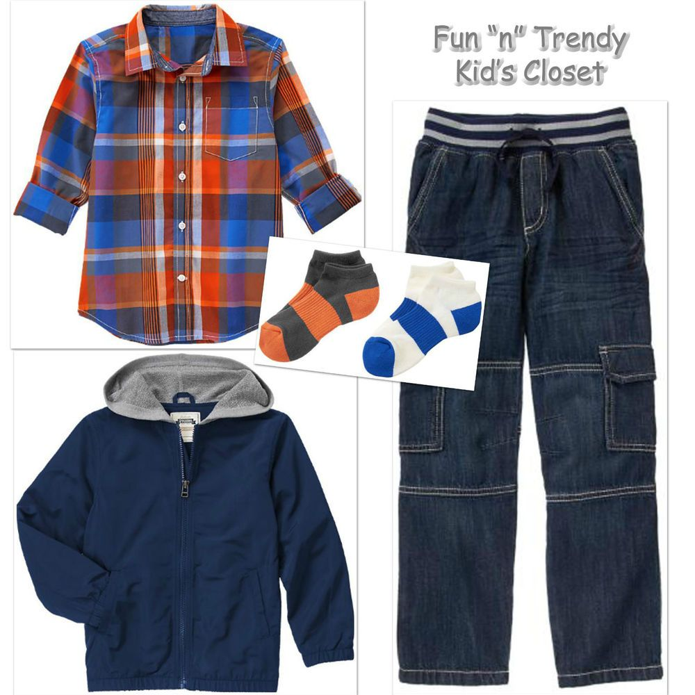 78409a942 Details about NWT Gymboree Everyday All Star Boys Size 10 12 Jacket ...