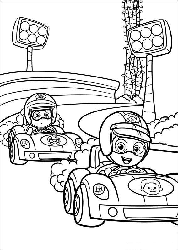 Desenhos para pintar Bubble Guppies 35 | Desenhos para Colorir ...