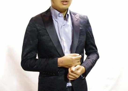 Camouflage Tuxedo カモフラタキシード・・ http://ameblo.jp/avance-aoyama/