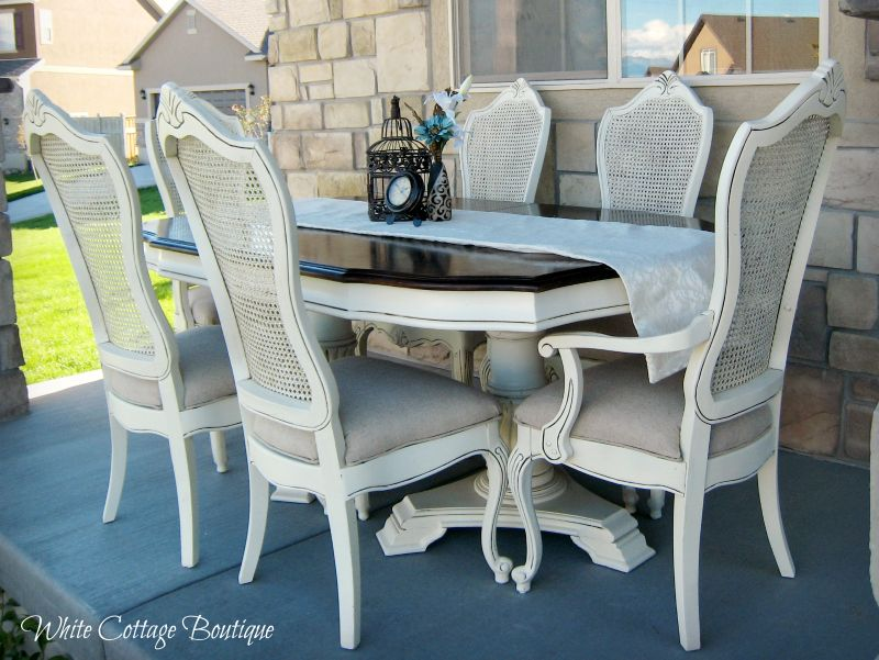 Chalk Painting The French Farmhouse Chairs
