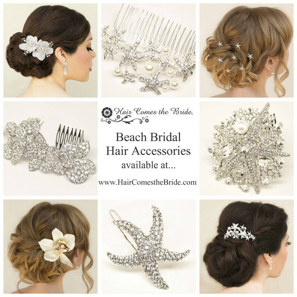 Beach Bridal Hair Accessories By