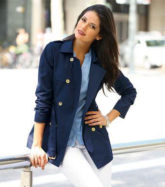 a2d59fd29ec94 chaqueta azul mujer - Buscar con Google