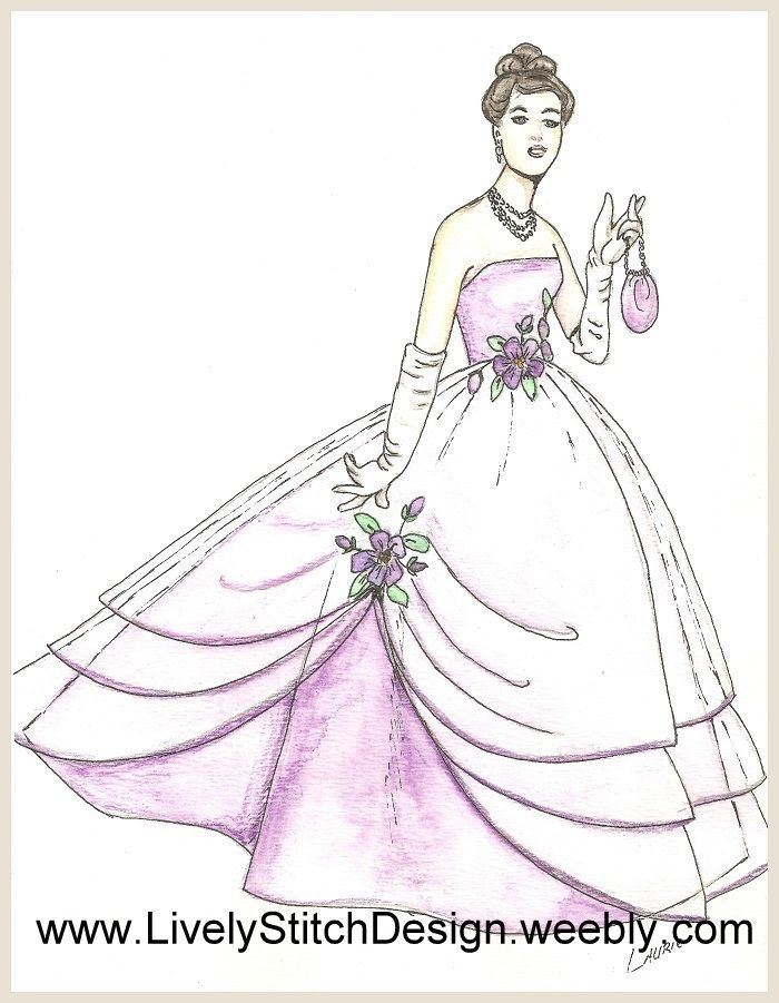 sewing pattern for the Silkstone Barbie doll The Wedding Day