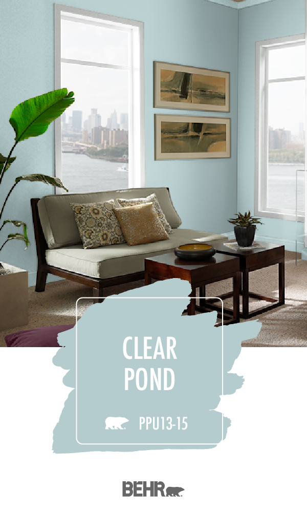 Photo of Clear Pond | Behr Paint Colors