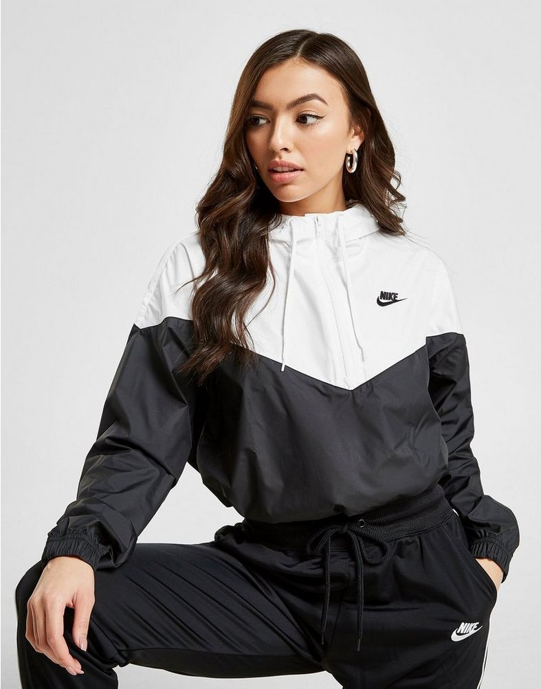 temerario Señor notificación  Nike Crop Windjacke Damen | White jacket women, Nike windbreaker outfit,  Nike jackets women