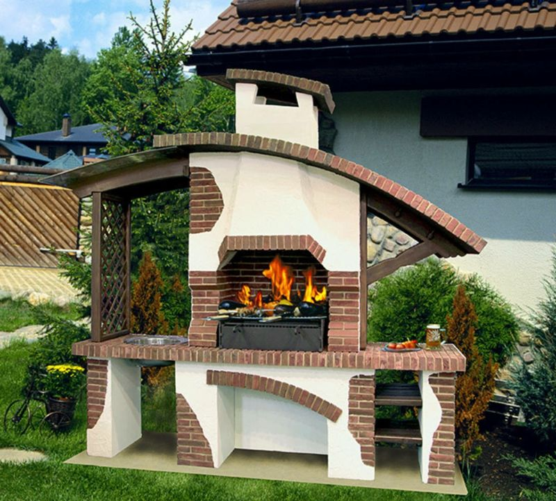 Gartengrill selber bauen anleitung in 6 einfachen schritten pinterest - Gartengrill bauen ...