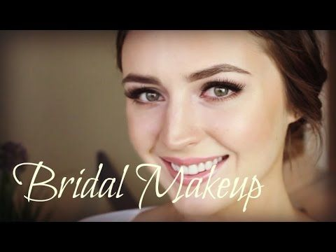 Great tutorial on a bridal makeup look.