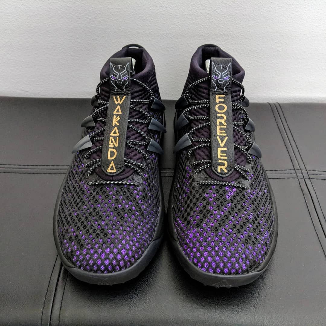 """0326a4f063d This """"Wakanda Forever """" DAME 4 Feature a """"Vibranium Upper"""" 