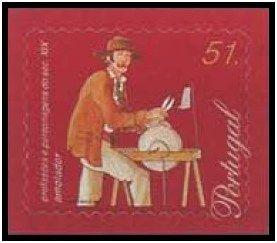Selos - Afinsa nr 2566 - Profissões e Personagens do Séc. XIX