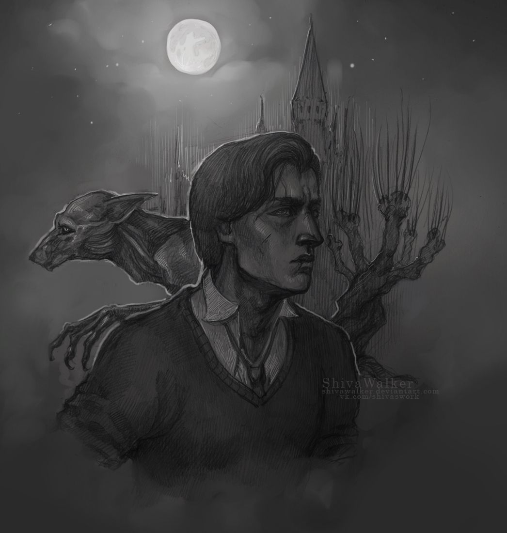 Remus Lupin By Shivawalker Remus Lupin Fan Art Harry Potter Art Remus Lupin Werewolf