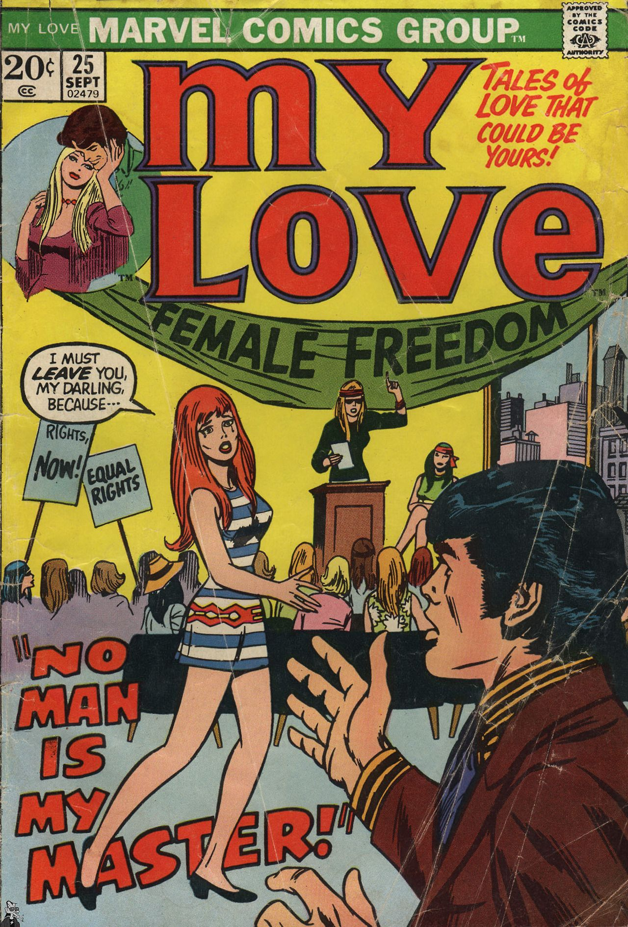 No Man Is My Master My Love N 25 September 1973 Cover By John