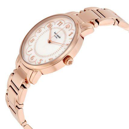 kate spade new york アナログ腕時計 税関込! kate spade Gramercy ローズゴールド 腕時計(2)