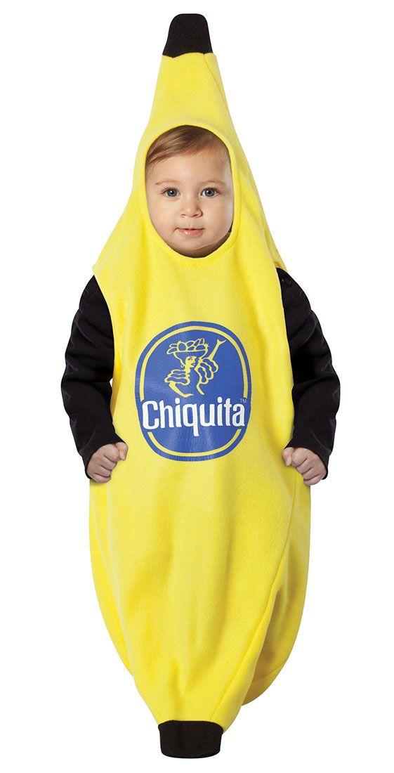 Chiquita Banana Baby Costume Baby Costumes Halloween Pinterest