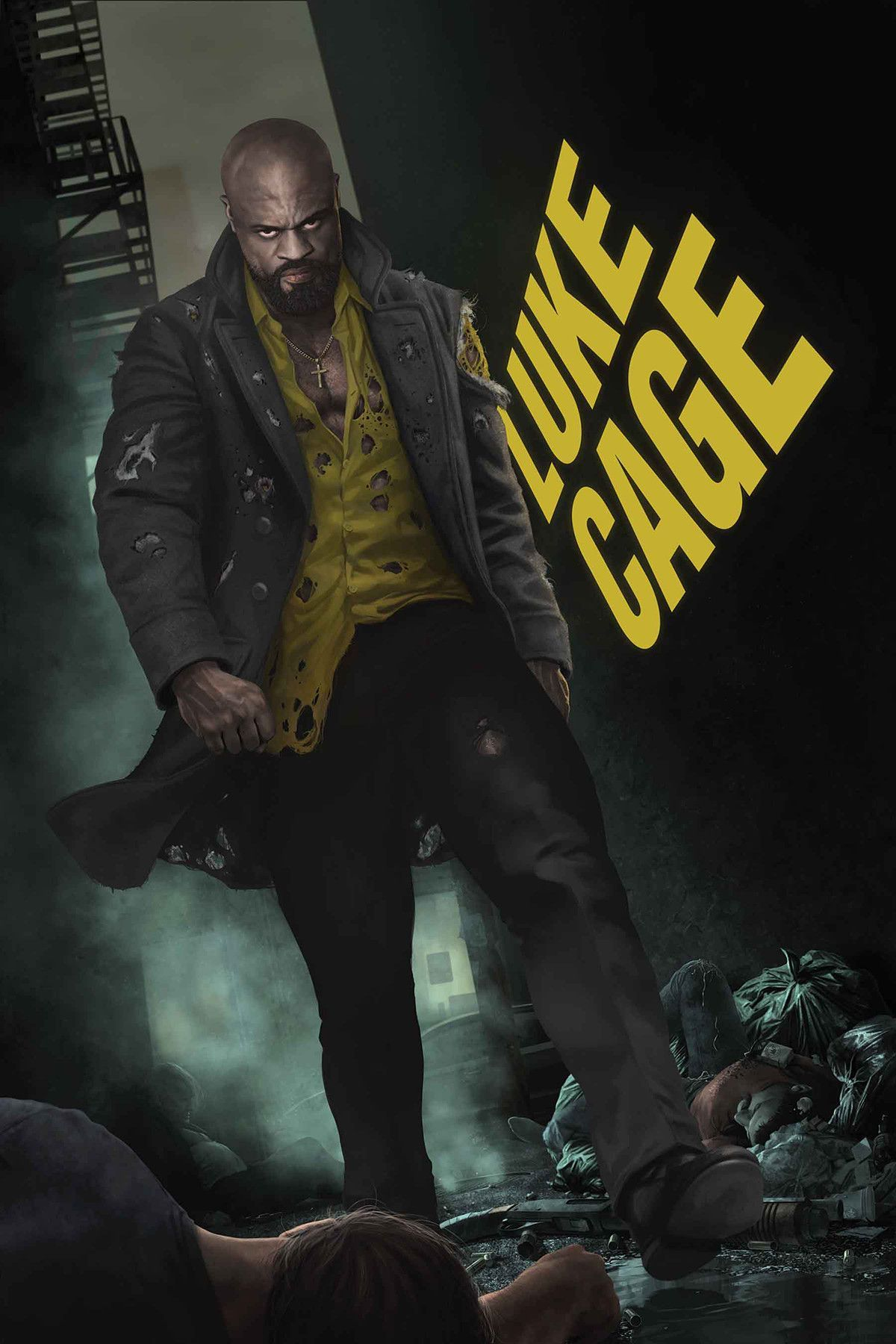 LUKE CAGE  2   Products   Pinterest   Luke cage  Marvel and Superheroes LUKE CAGE  2