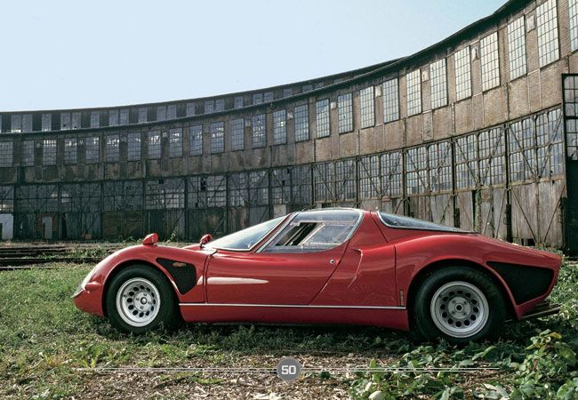 1967 Alfa Romeo 33 Stradale. Among the 50 best cars ever. | Products
