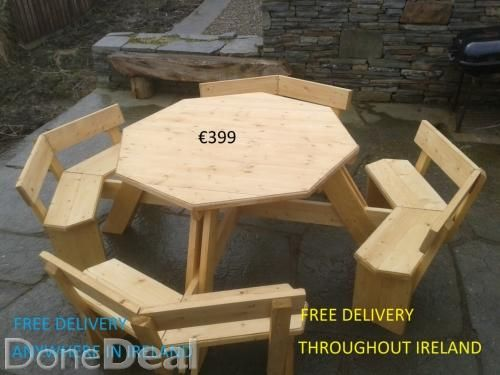 Garden Furniture With Free Delivery Nationwide For Sale In Wicklow