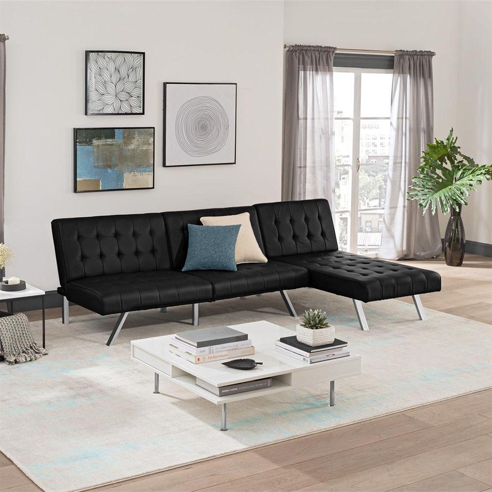 Dorel home furnishings canada emily faux leather modular