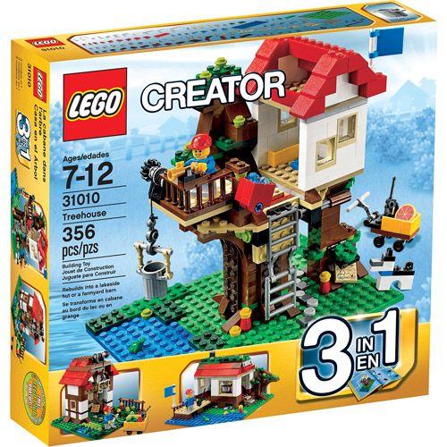 Lego Beach House Walmart: LEGO Creator Treehouse Play Set: Building Sets & Blocks
