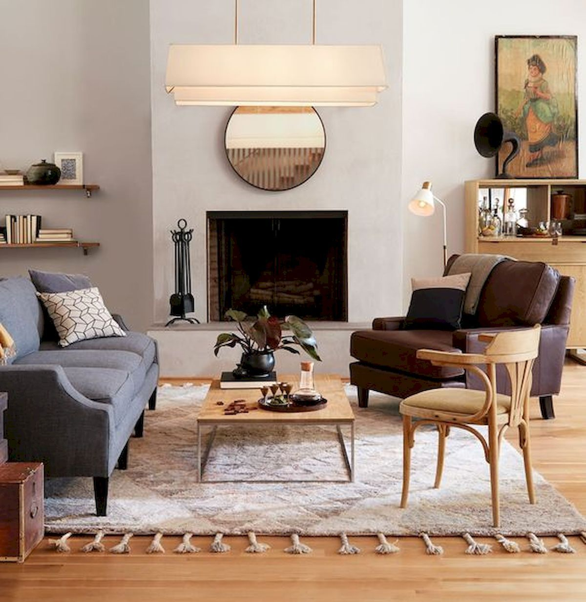 Home Staging Trends: 33 Awesome Modern Farmhouse Living Room Decor Ideas