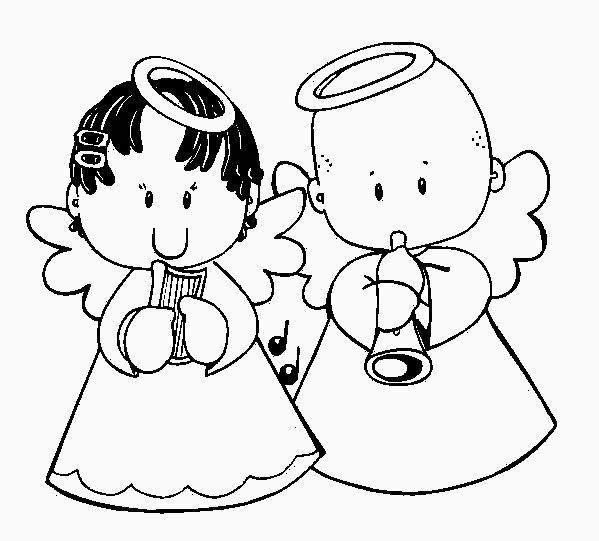 par de angelitos encuentra este pin y muchos ms en angelitos para imprimir