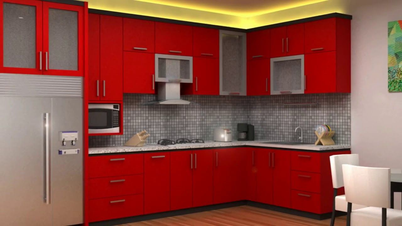 50 Top Red Kitchen Design Ideas Trends In 2018 Youtube Kitchen Design Color Minimalist Kitchen Design Red Kitchen Cabinets