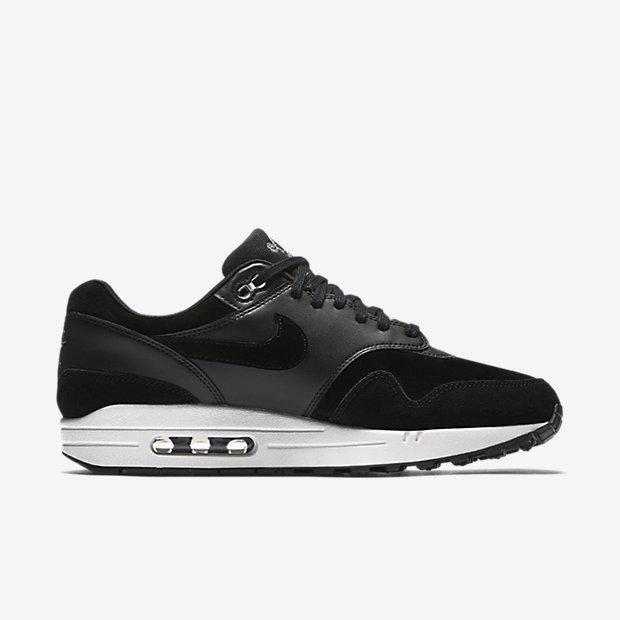 6316f7983f45bb Nike air max 1 premium - black off white chrome