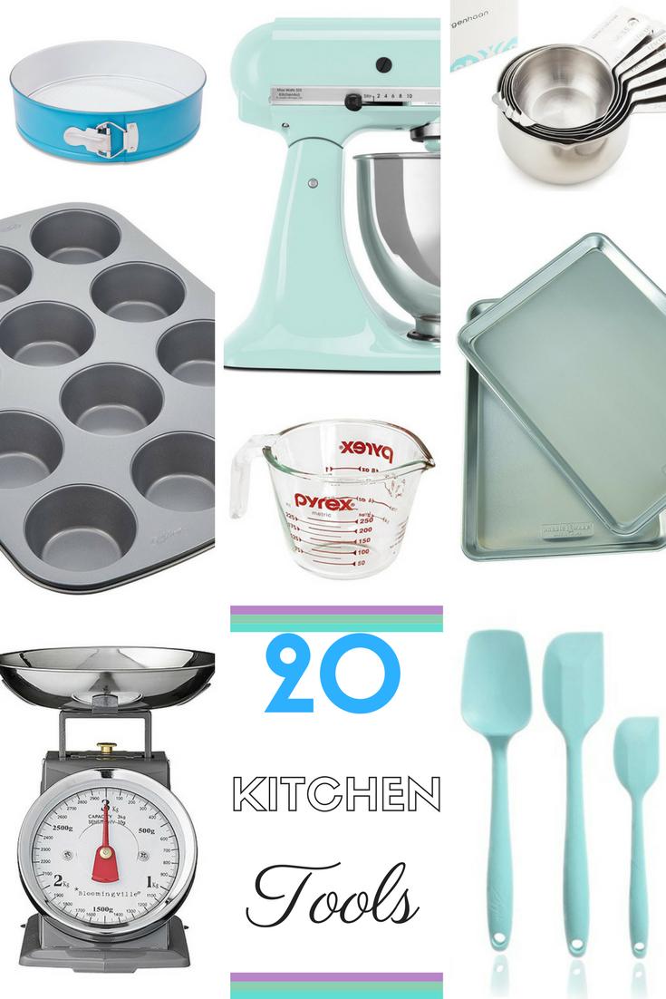 A list of my favourite Kitchen Tools! | www.johleneorton.com | Pinterest