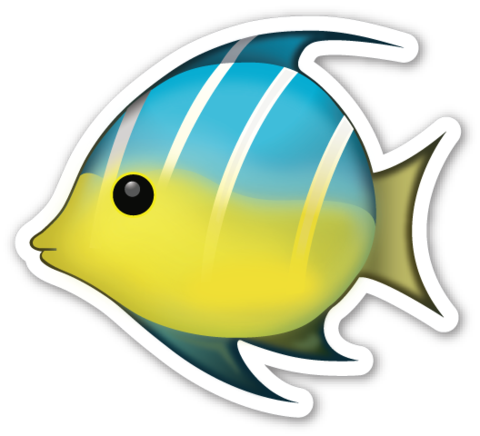 Tropical Fish Emojistickers Com Tropical Fish Fish Emoji Cute Tumblr Pictures