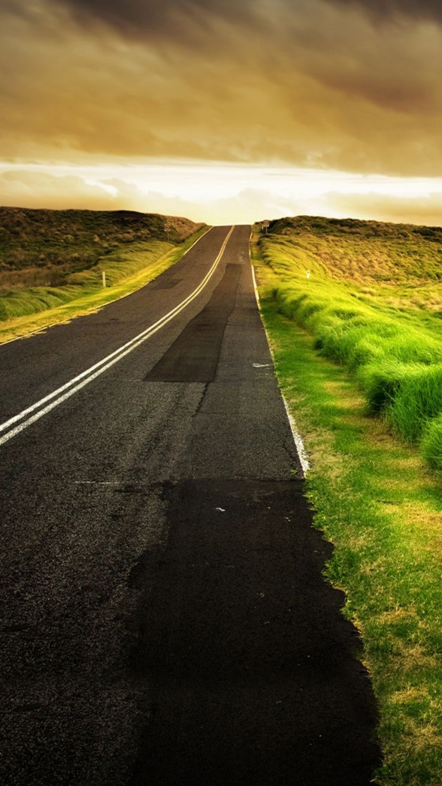 Road to the Sea iPhone 5s Wallpaper http//www