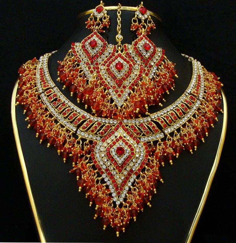 Indian Bridal Jewelry Sets Stylish Bridal Jewelry Fashion