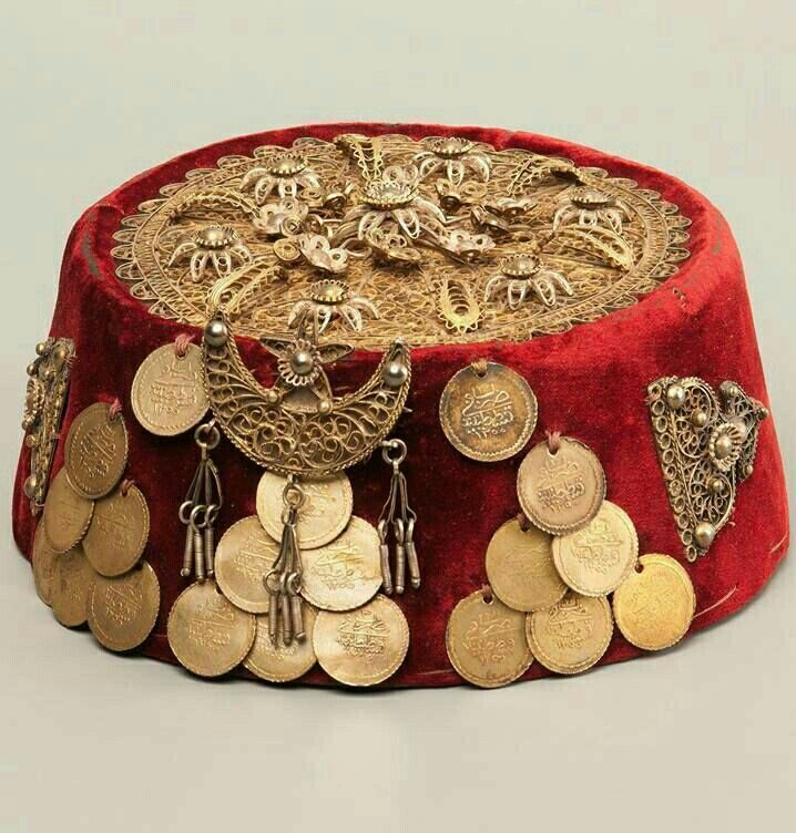 Traditional Turkish Hat For Women   Ottoman Jewelry in 2019