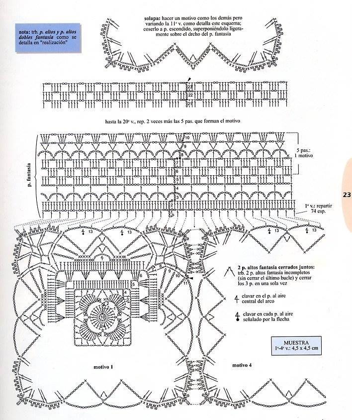 mochila blanca | Grany Crochet | Pinterest | Crochet