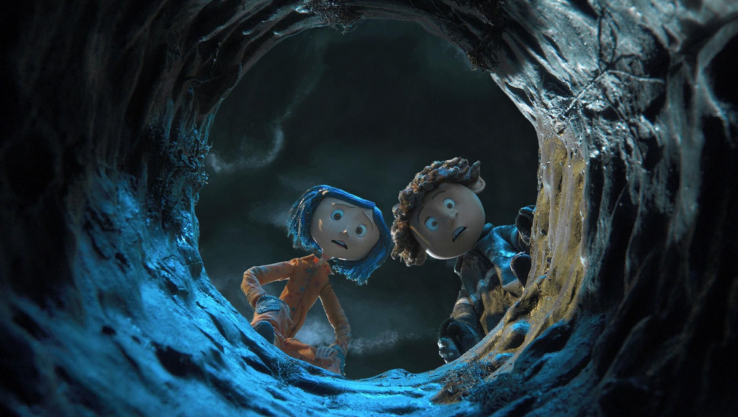 Coraline 2009 Desktop Wallpaper Moviemania In 2020 Coraline Film Coraline Aesthetic Coraline And Wybie