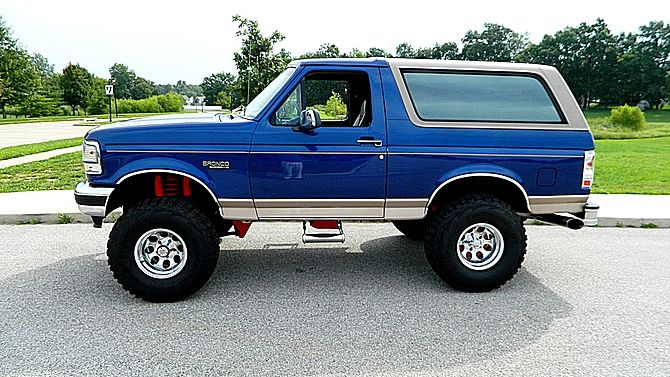 1996 Ford Bronco Same Year Aaas My Bronco I Want Mine To Look