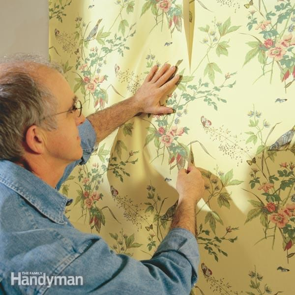 How To Hang Prepasted Wallpaper Prepasted Wallpaper Wallpaper Accent Wall Removable Wallpaper