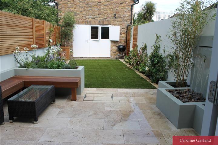 Minimalist Garden in South London Putney Gardens Minimalist