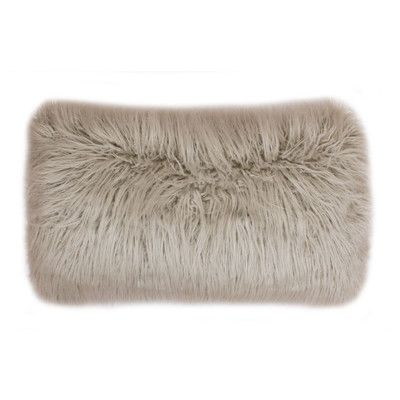 Found it at Wayfair - Keller Faux Mongolian Lumbar Pillow