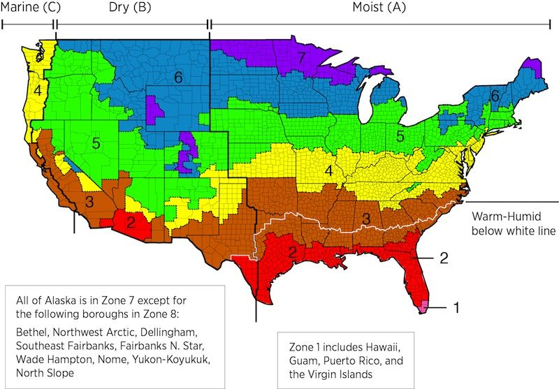 San Diego C Marine Climate In The Iecc Climate Zone Map Energy - Map of san diego in the us