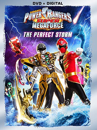 power rangers super megaforce the perfect storm on dvd. Black Bedroom Furniture Sets. Home Design Ideas