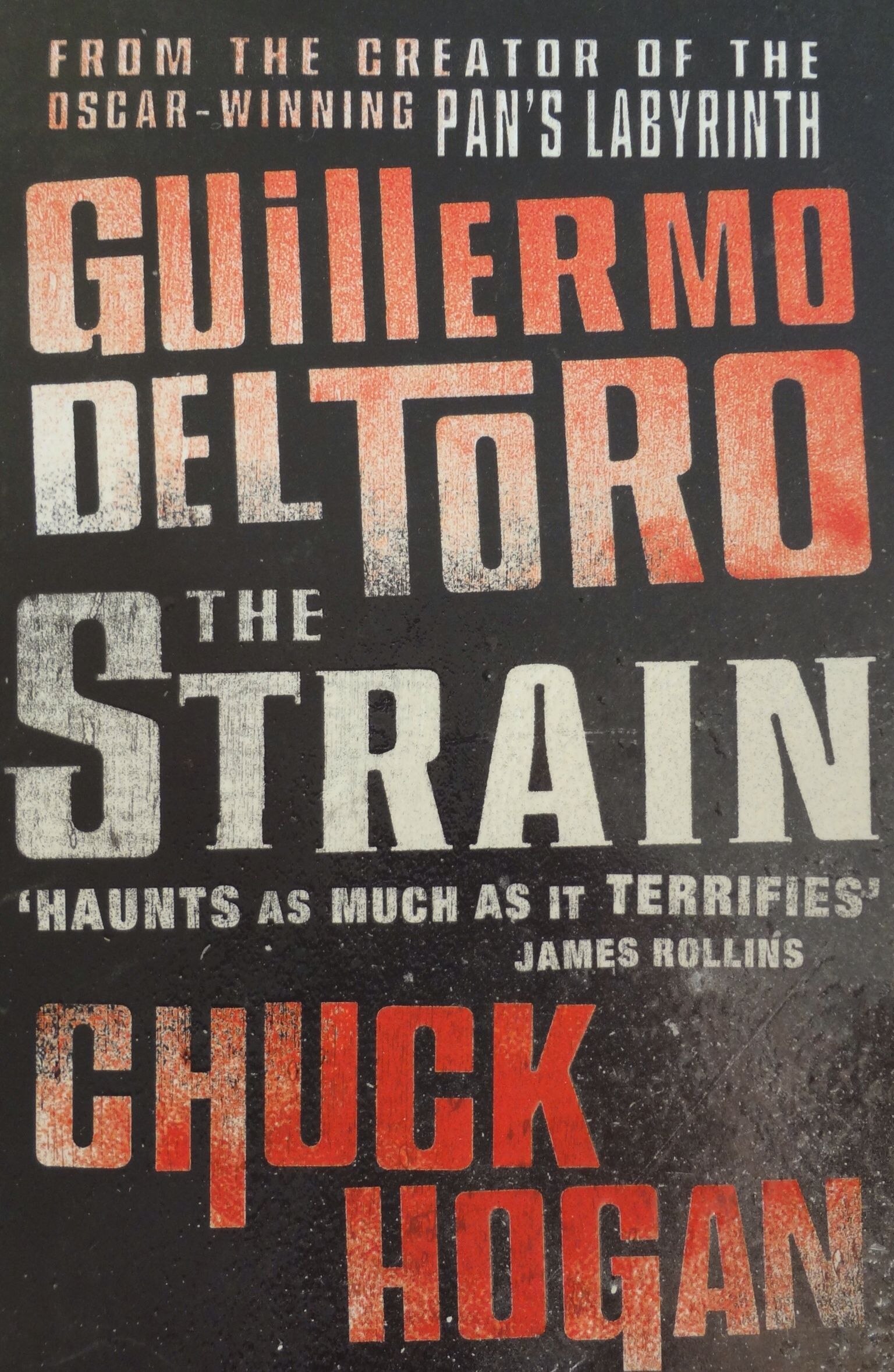 "The first book of the ""Strain"" trilogy. Read them all."