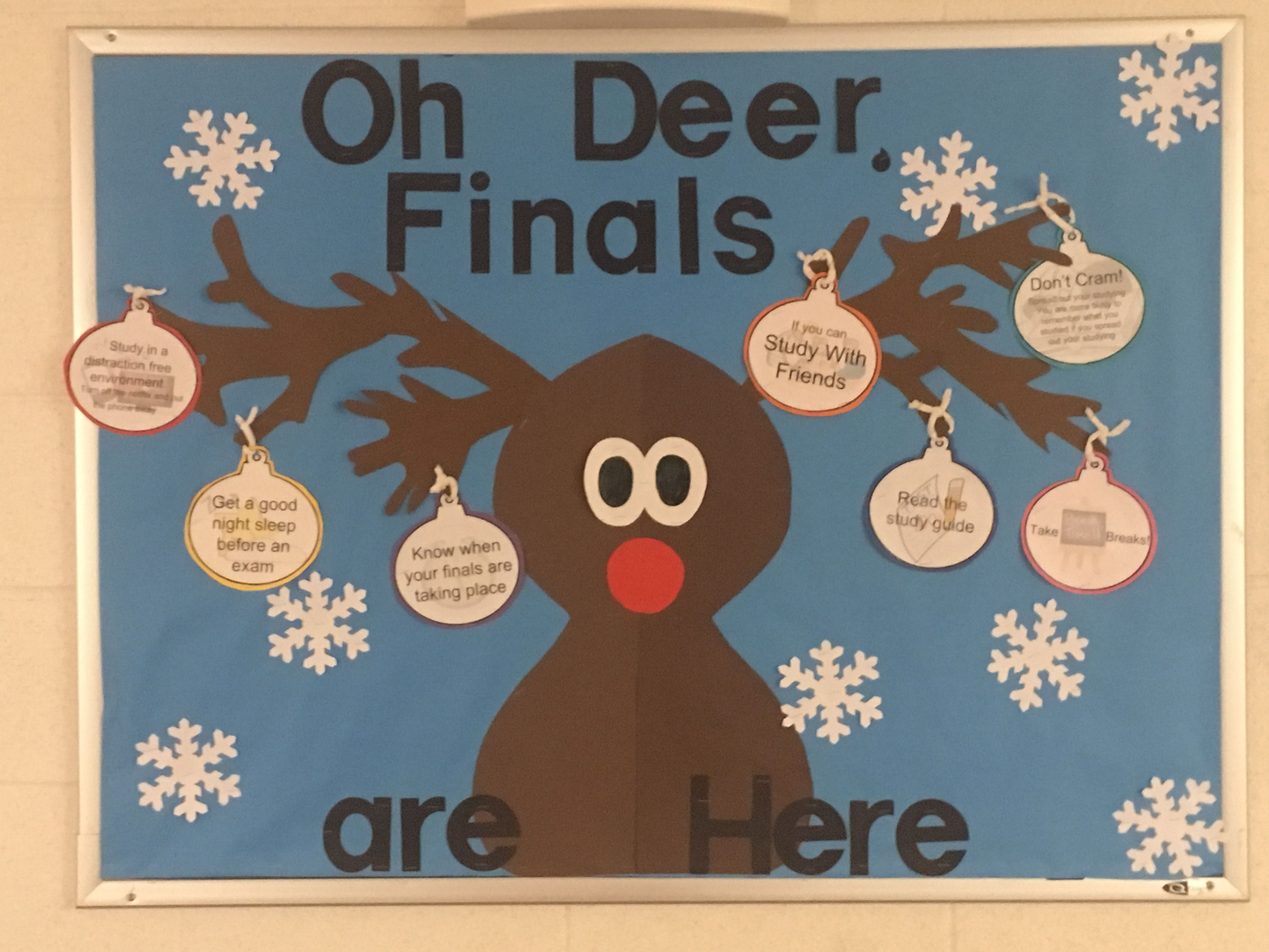 Oh Deer Finals Are Here